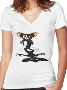 Midnight Snack Women's Fitted V-Neck T-Shirt