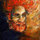 Potrait of the artist by Tatjana Larina