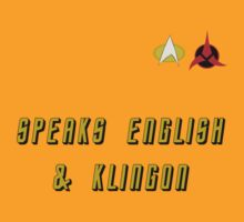 Speaks English & Klingon by Nickfree1