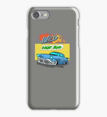 Blue 1957 Cadillac iPhone Case/Skin