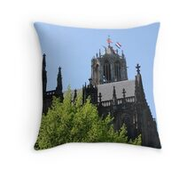 Gothic Queen's Day Throw Pillow