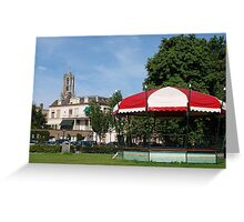 The Bandstand in the Park Greeting Card