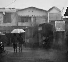 Rain by misterhan