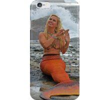 Lorelei Combs Her Golden Hair iPhone Case/Skin