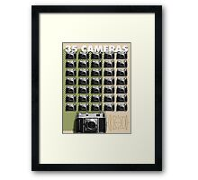 35 Cameras - Retina Rodenstock Heligon f/2.0 Framed Print