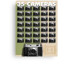 35 Cameras - Retina Rodenstock Heligon f/2.0 Canvas Print