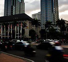 Jakarta Traffic by misterhan