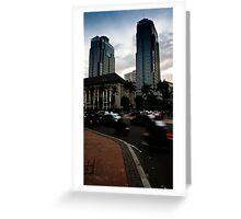 Jakarta Traffic Greeting Card