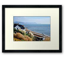 November Morning ~ Lyme Regis Framed Print