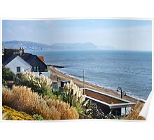 November Morning ~ Lyme Regis Poster