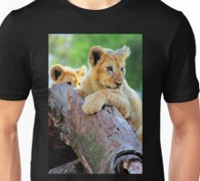 Lion Cubs at Play Unisex T-Shirt
