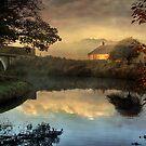 Just before sunrise. by Irene  Burdell