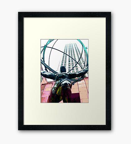 Colossus Framed Print