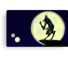 Ware the Wolf Canvas Print