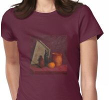 School sketch Womens Fitted T-Shirt
