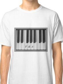F&A Piano Keys Classic T-Shirt