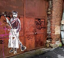 Street Art - Saint Petersburg by Andrew Pounder