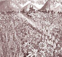 Kaas Plateau - the wild beauty 2 by Thecla Correya