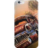 Rusting Time Machine iPhone Case/Skin