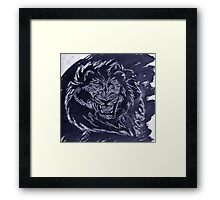 """Untamed Blue""  by Carter L. Shepard Framed Print"