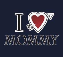 i love mommy heart One Piece - Long Sleeve