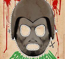 Death Race 2000 (mask) by Geekleetist