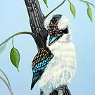 Sitting Pretty, Kookaburra by Linda Callaghan