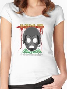 Death Race 2000 (mask) Women's Fitted Scoop T-Shirt