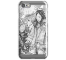 Sedna, Inuit Goddess of the Sea (B&W) - iPhone/iPod case iPhone Case/Skin