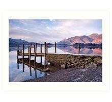 Ashness Jetty - Derwentwater - The Lake District Art Print
