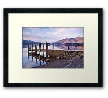 Ashness Jetty - Derwentwater - The Lake District Framed Print