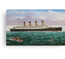 RMS Aquitania Canvas Print