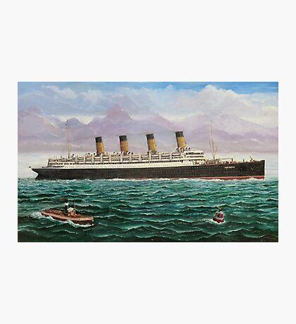 RMS Aquitania Photographic Print