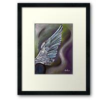 Angel Wing Framed Print
