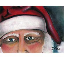 Father Christmas Photographic Print