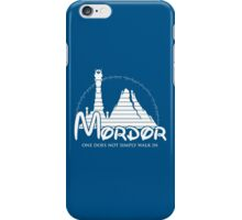 Disney Mordor iPhone Case/Skin