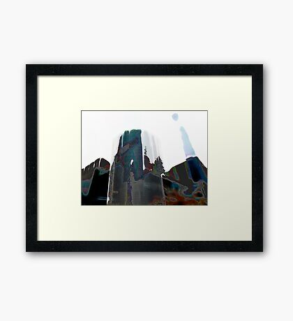 Facades #1 Framed Print