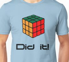 Rubix Cube - Did it! Unisex T-Shirt