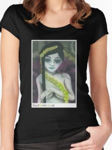 007 COLD FLOWER Women's Fitted Scoop T-Shirt