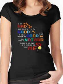 No One I'd Rather Be Women's Fitted Scoop T-Shirt