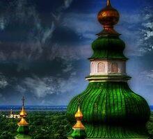 Domes of Trinity Cathedral by LudaNayvelt