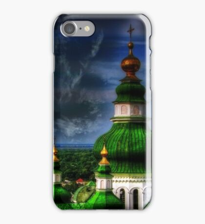 Domes of Trinity Cathedral iPhone Case/Skin