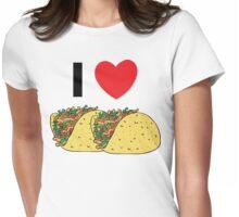 Cinco de Mayo I Love Tacos Womens Fitted T-Shirt