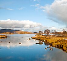 Rannoch Moor,Glencoe Scotland by M.S. Photography & Art