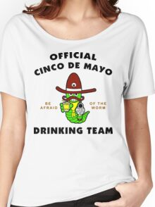 "Cinco de Mayo ""Official Cinco de Mayo Drinking Team"" Women's Relaxed Fit T-Shirt"