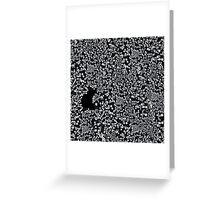 Buco nero Greeting Card