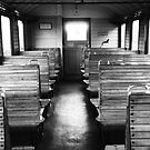 Old train compartment by Falko Follert