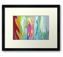 Floral Quest Framed Print