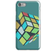 Rubix Cube - Plain iPhone Case/Skin