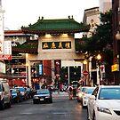 Gateway to Boston's Chinatown by Choux